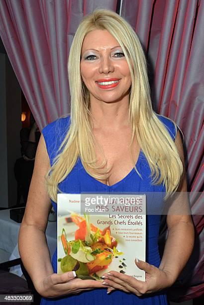 Nadine Rodd attends 'La Route Des Saveurs Les Secrets Des Grands Chefs Etoiles' Nadine Rodd's Launch Book At the Restaurant Le Diane in Le Fouquet's...