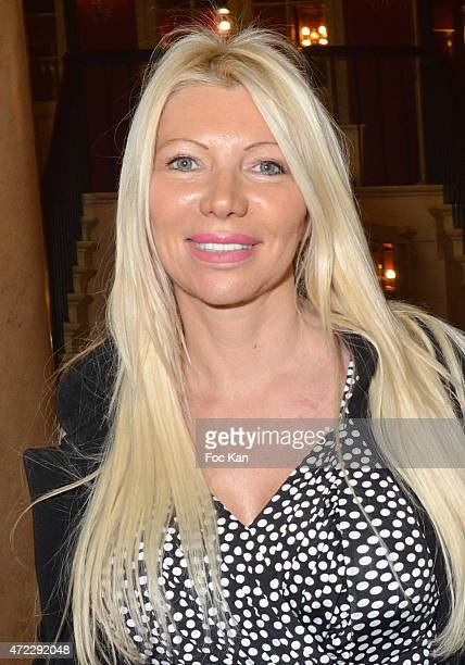 Nadine Rodd attends the 'Bel Canto' Premiere at Theatre des Varietes on May 5 2015 in Paris France