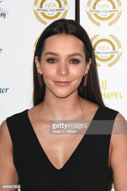 Nadine Rose Mulkerrin attends the National Film Awards UK at Porchester Hall on March 28 2018 in London England