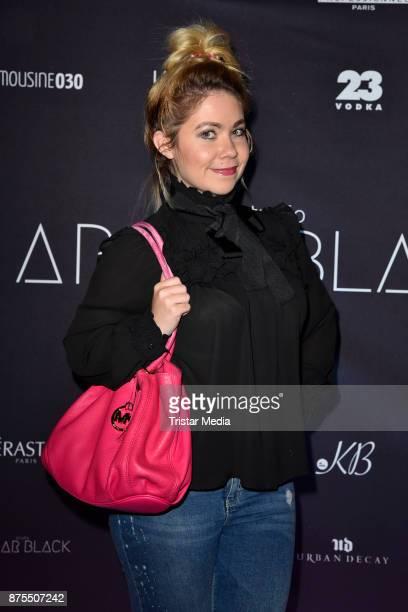 Nadine Trompka attends the Apjar Black studio opening on November 17 2017 in Berlin Germany