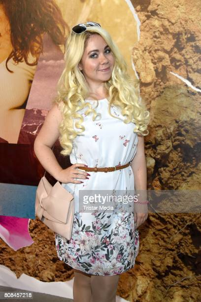 Nadine Trompka attends the Lena Hoschek show during the MercedesBenz Fashion Week Berlin Spring/Summer 2018 at Kaufhaus Jandorf on July 4 2017 in...