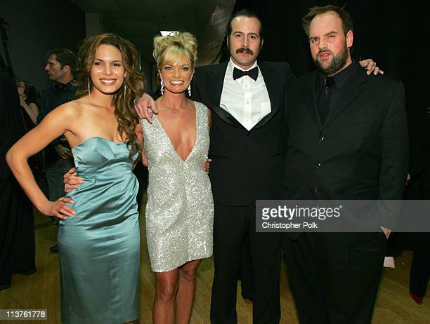 Nadine Velazquez Jaime Pressly Jason Lee and Ethan Suplee of My Name Is Earl **EXCLUSIVE**