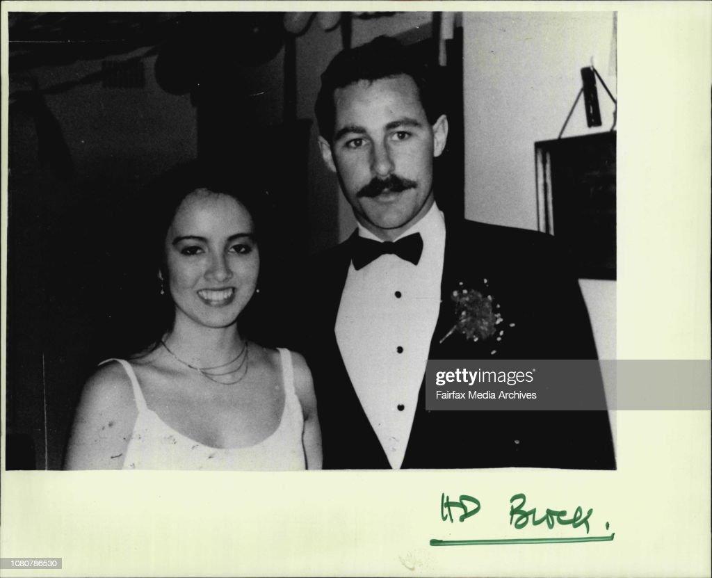 Nadine Vidot with her boyfriend Lance Harris in happier