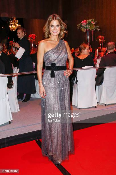 Nadine von Gumppenberg attends the aftershow party during during the 24th Opera Gala at Deutsche Oper Berlin on November 4 2017 in Berlin Germany