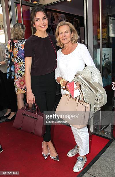 Nadine Warmuth Andrea L' Arronge attend the 'Fuer immer ein Moerder Der Fall Ritter' Premiere as part of Filmfest Muenchen at Rio Filmpalast on July...
