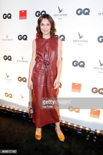 Nadine Warmuth attends the GQ Mension Style Party 2017 at Austernbank on July 5 2017 in Berlin Germany