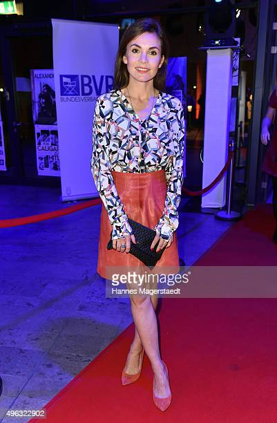 Nadine Warmuth during the 5th German Director Award Metropolis at HFF on November 8 2015 in Munich Germany