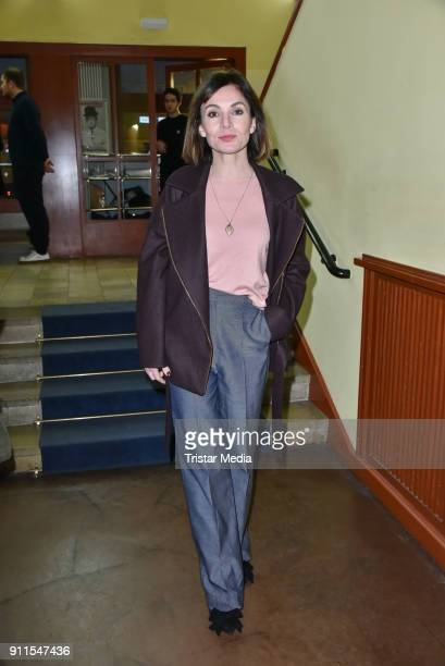 Nadine Warmuth during the 60 anniversary of Ernst Lubitsch Award on January 28 2018 in Berlin Germany