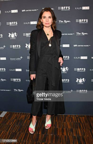 Nadine Warmuth during the Actors Night as part of the 70th Berlinale International Film Festival Berlin at The Rose Spy Bar on February 28 2020 in...