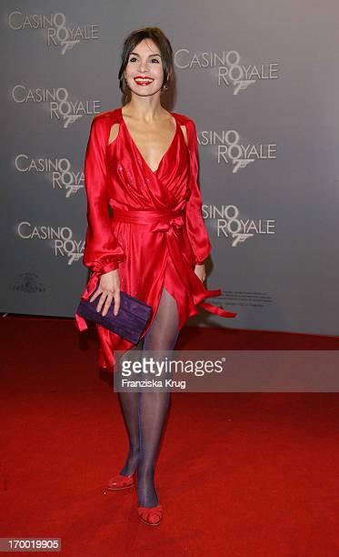 Nadine Warmuth In Germany at Premiere Of 'Casino Royale' in Cinestar Potsdamer Platz Berlin