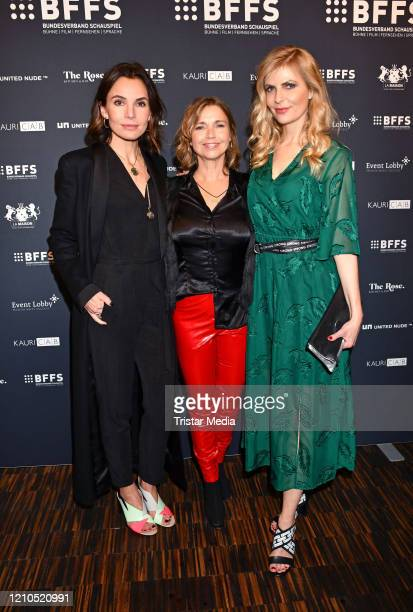 Nadine Warmuth Tina Ruland Tanja Buelter during the Actors Night as part of the 70th Berlinale International Film Festival Berlin at The Rose Spy Bar...