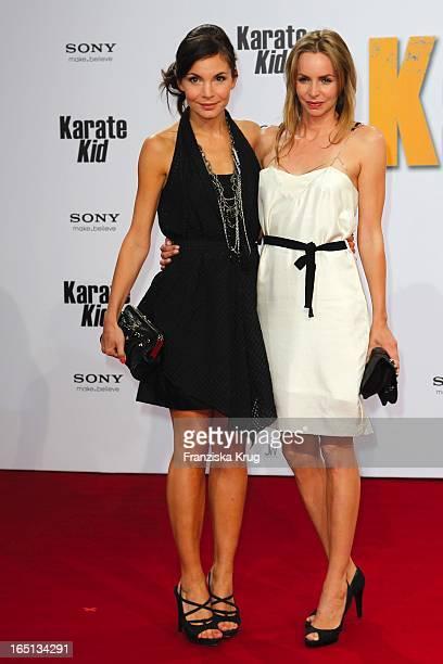 Nadine Warmuth Und Simone Hanselmann Bei Der Deutschlandpremiere Des Kinofilms Karate Kid Im Cinestar Am Potsdamer Platz In Berlin