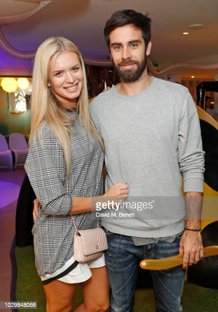 Nadiya Bychkova and guest attend Fifi Fest hosted by Tamara Ecclestone at Cloud Twelve private members club to promote her baby and kids care range...