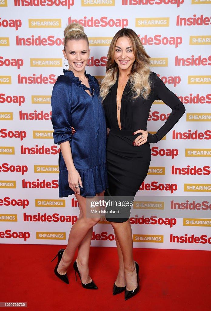 Inside Soap Awards 2018 - Red Carpet Arrivals : News Photo