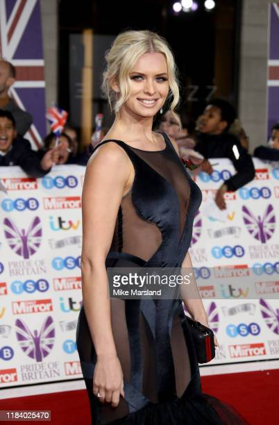 Nadiya Bychkova attends Pride Of Britain Awards 2019 at The Grosvenor House Hotel on October 28, 2019 in London, England.