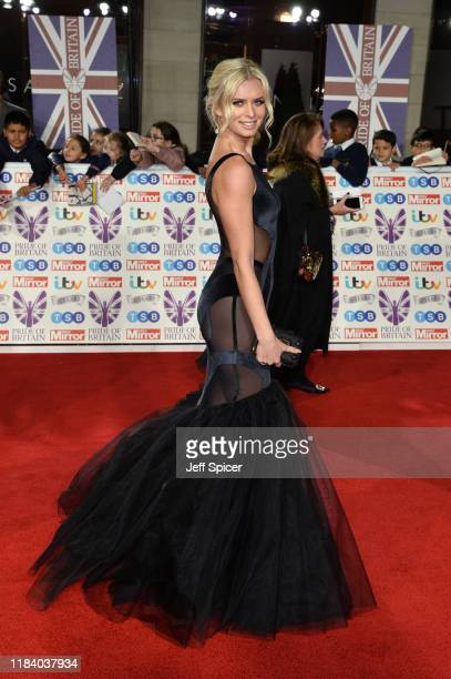 Nadiya Bychkova attends Pride Of Britain Awards 2019 at The Grosvenor House Hotel on October 28 2019 in London England