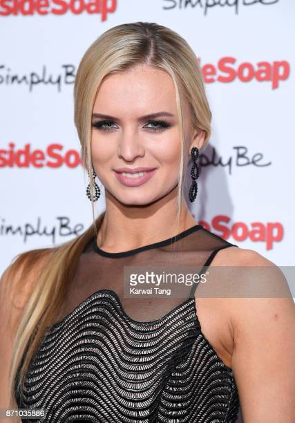 Nadiya Bychkova attends the Inside Soap Awards at The Hippodrome on November 6 2017 in London England