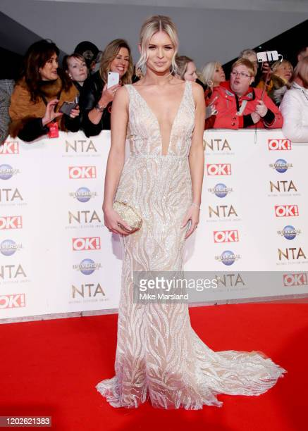 Nadiya Bychkova attends the National Television Awards 2020 at The O2 Arena on January 28, 2020 in London, England.