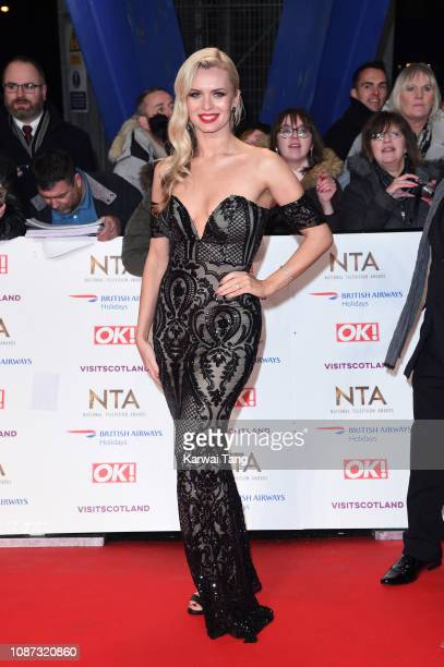 Nadiya Bychkova attends the National Television Awards held at The O2 Arena on January 22 2019 in London England