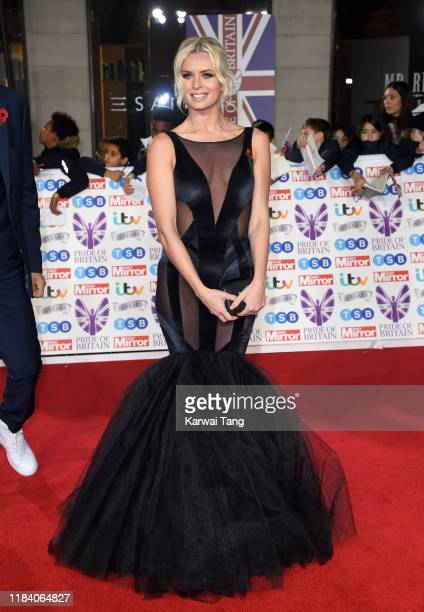 Nadiya Bychkova attends the Pride Of Britain Awards 2019 at The Grosvenor House Hotel on October 28 2019 in London England