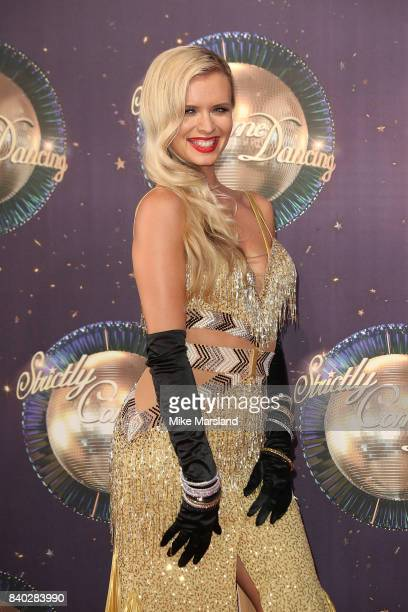 Nadiya Bychkova attends the 'Strictly Come Dancing 2017' red carpet launch at The Piazza on August 28 2017 in London England