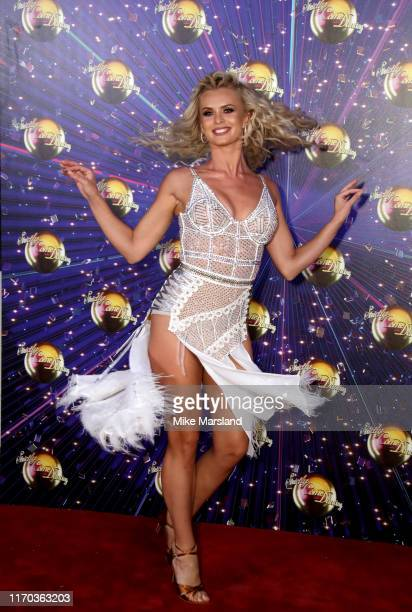 Nadiya Bychkova attends the Strictly Come Dancing launch show red carpet at Television Centre on August 26 2019 in London England