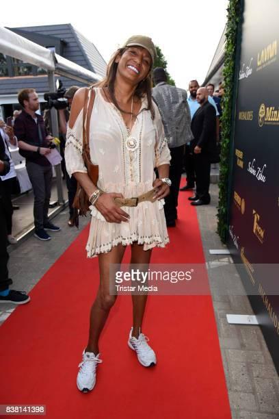 Nadja abd el Farrag attends the 'Michalides Zahn Werder Klinik' Opening on August 23 2017 in Bremen Germany