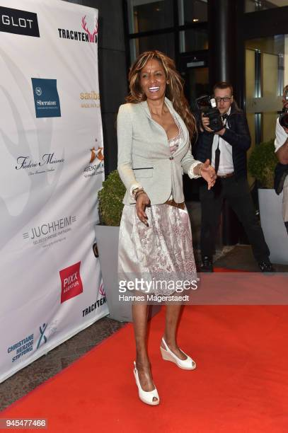 Nadja Abd el Farrag attends Trachtentrends 2018 at Sheraton on April 12 2018 in Munich Germany