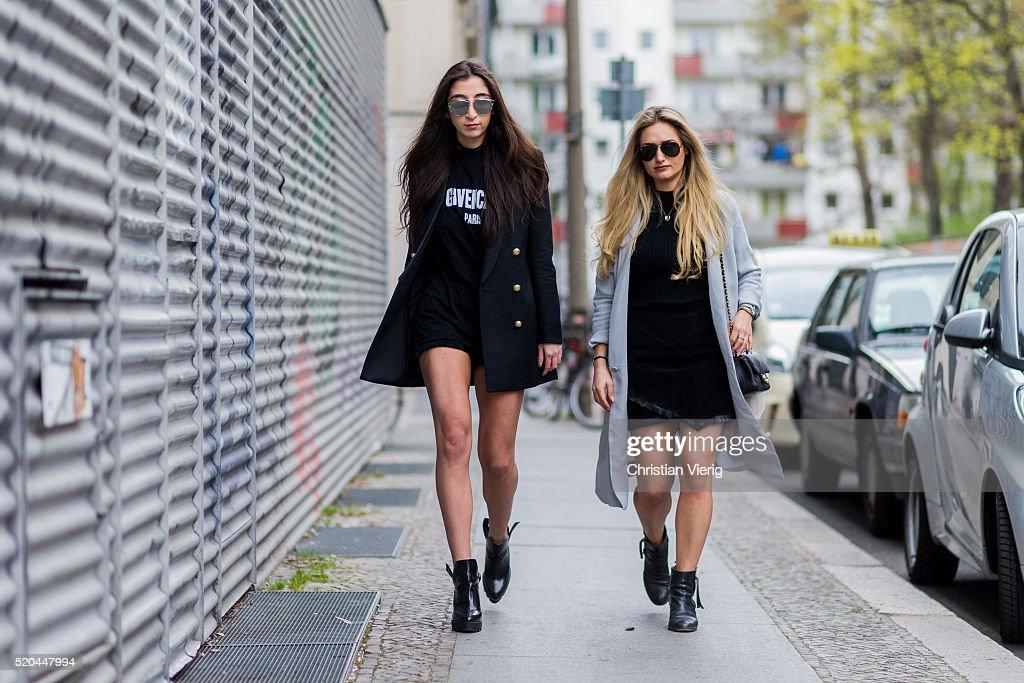 Street Style In Berlin - April 11, 2016 : News Photo