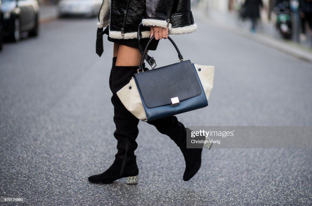 Street Style - Berlin - November 4, 2017 : News Photo