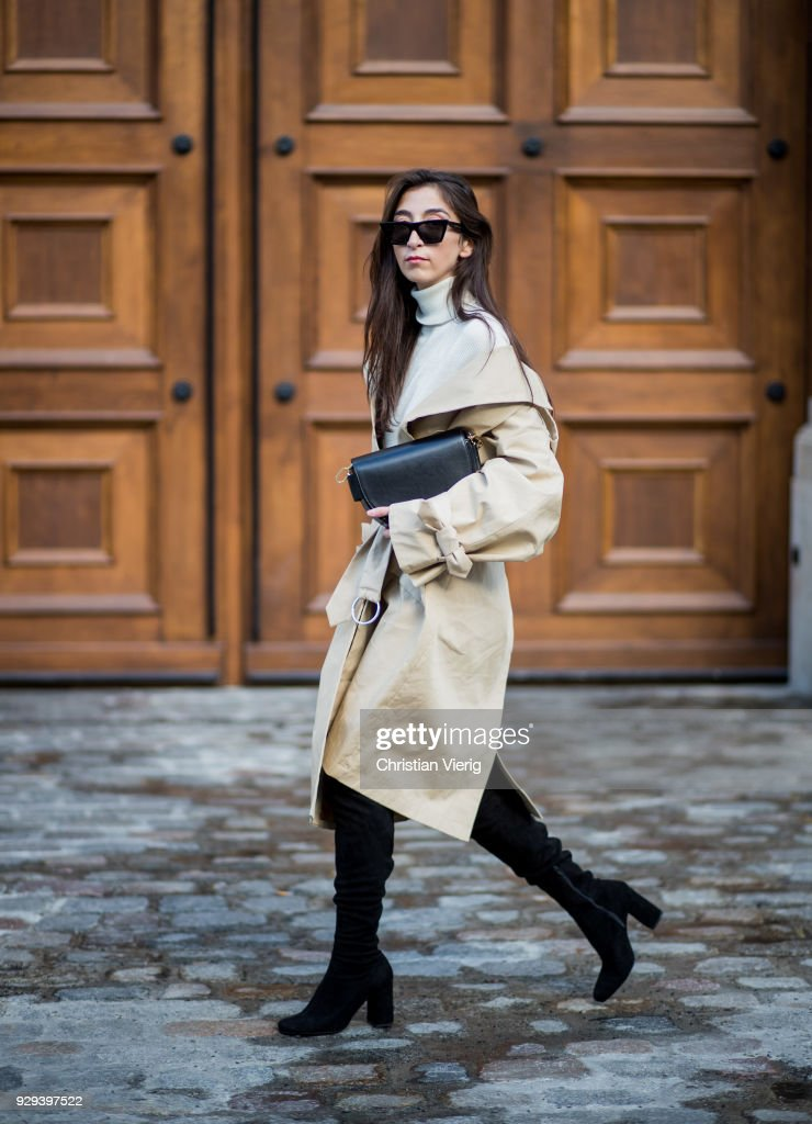 Street Style - Berlin - March 8, 2018 : News Photo