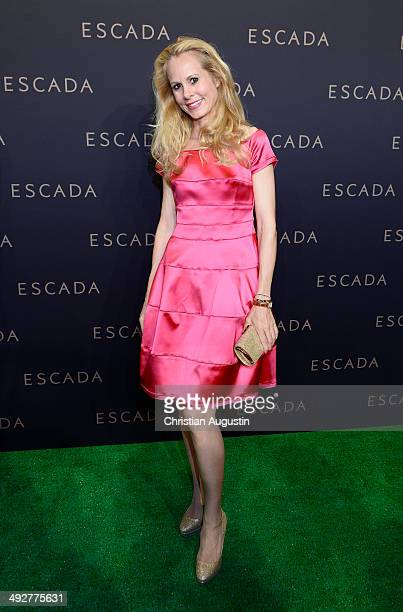 Nadja Anna princess of SchaumburgLippe attends Escada Flagshipstore Opening at Kaisergalerie on May 21 2014 in Hamburg Germany