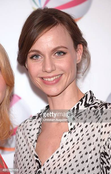 Nadja Becker attends SAT1 Fiction Event 2013 photocall at Stage Theatre on November 21 2013 in Hamburg Germany