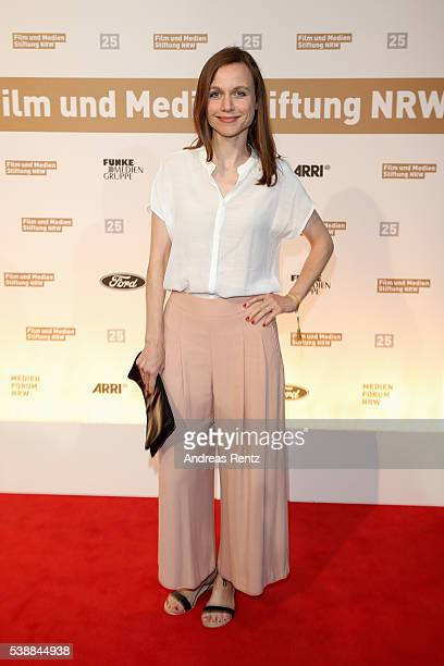 Nadja Becker attends the Film und Medienstiftung NRW summer party on June 8 2016 in Cologne Germany