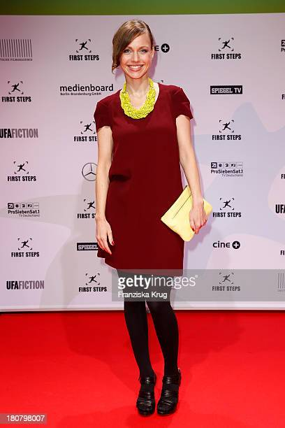 Nadja Becker attends the First Steps Awards 2013 at Stage Theater on September 16 2013 in Berlin Germany