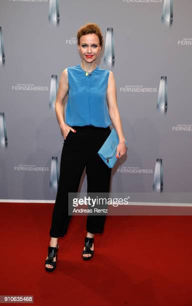 Nadja Becker attends the German Television Award at Palladium on January 26 2018 in Cologne Germany