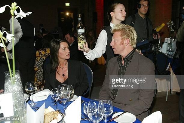 Nadja Comaneci Und Boris Becker Beim Benefiz Dinner Der Laureus Sport Stiftung Im Umspannwerk In Berlin