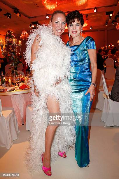 Nadja Michael and Anja Kruse attend the Rosenball 2014 on May 31 2014 in Berlin Germany