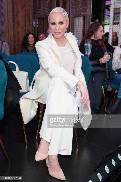 Nadja Michael attends the PEARL Model Management Fashion Aperitif at The Reed on January 13 2020 in Berlin Germany
