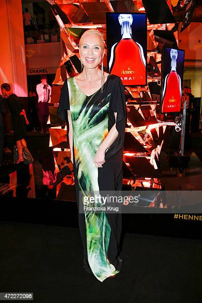 Nadja Michael during the Hennessy 250th anniversary celebrations on May 5 2015 in Berlin Germany