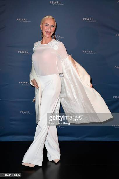 Nadja Michael during the PEARL Model Management Fashion Aperitif at The Reed on January 13 2020 in Berlin Germany