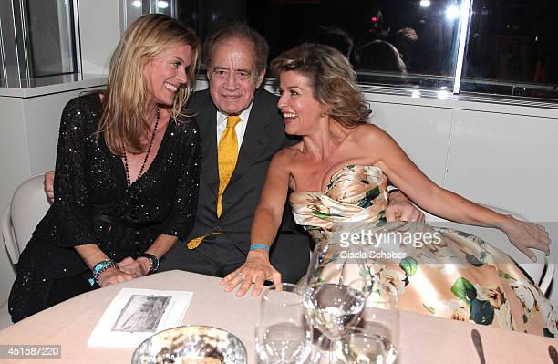 Nadja Schildknecht Arthur Cohn and Anne Sophie Mutter attend the 'Gala Abend mit Arthur Cohn' as part of Filmfest Muenchen 2014 at Gasteig and Dinner...