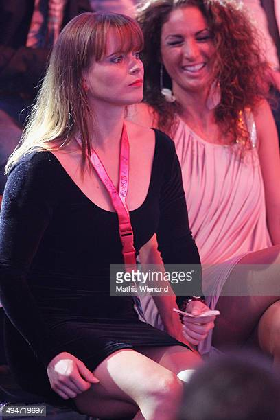 Nadja Schweiwiller attends the Let's Dance Finals at MMC Studios on May 30 2014 in Cologne Germany