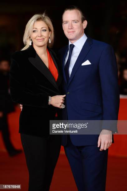 Nadja Swarovski and and Rupert Adams attend attends 'Romeo And Juliet' Premiere during The 8th Rome Film Festival on November 11 2013 in Rome Italy