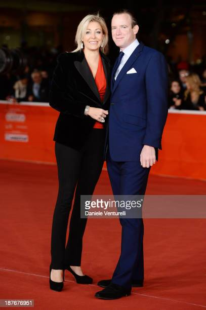 Nadja Swarovski and and Rupert Adams attend attends 'Romeo And Juliet' Premiere during The 8th Rome Film Festival on November 11, 2013 in Rome, Italy.