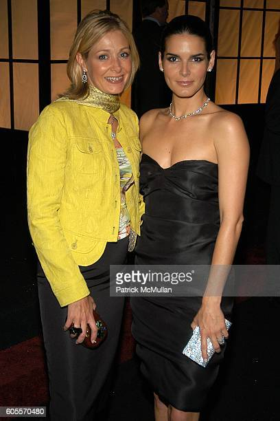ec26c44c6 Nadja Swarovski and Angie Harmon attend SWAROVSKI hosts a party to present  their POETIC NIGHT Collection