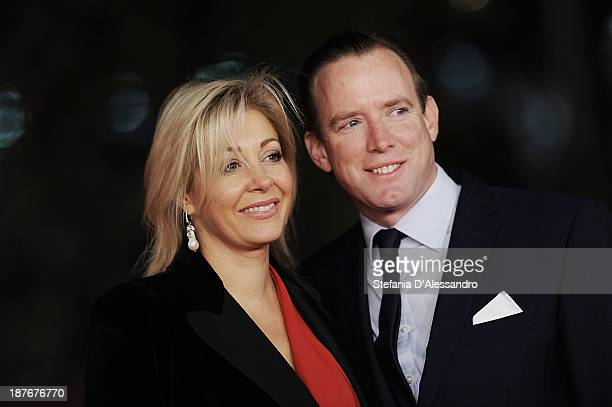 Nadja Swarovski and her husband Rupert Adams attend 'Romeo And Juliet' Premiere during The 8th Rome Film Festival on November 11 2013 in Rome Italy