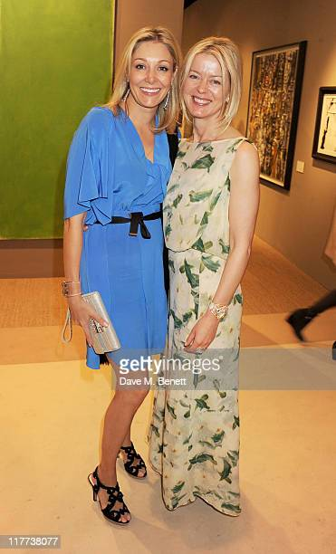 Nadja Swarovski and Lady Helen Taylor attend the Masterpiece Midsummer Party in aid of Clic Sargent at The Royal Hospital Chelsea on June 30 2011 in...