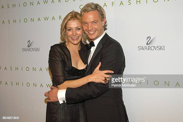 bc081d8d2 Nadja Swarovski and Markus LangesSwarovski attend The 2006 CFDA Fashion  Awards at The New York Public