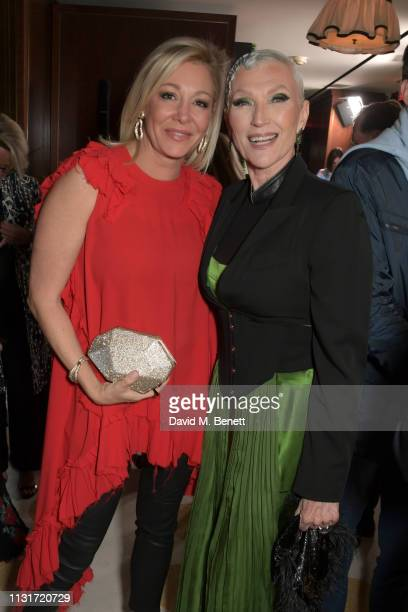 Nadja Swarovski and Maye Musk attend the MAISONDEMODECOM Sustainable Style Gala at The Sunset Tower on February 23 2019 in Los Angeles California
